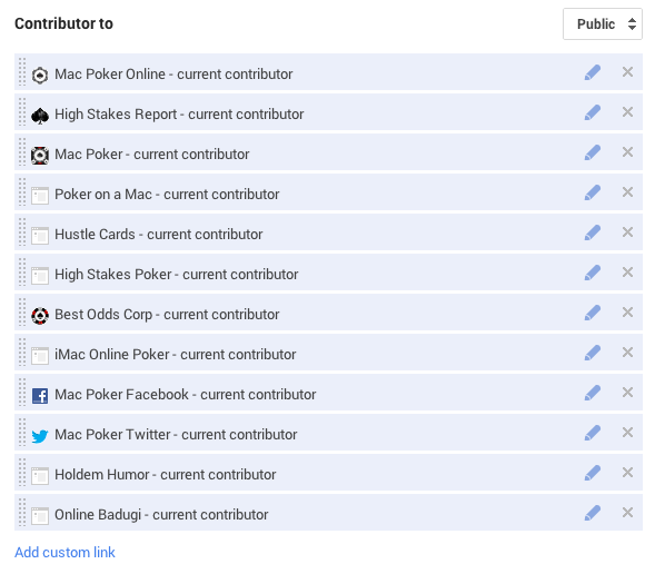 """LInk back to the site from your Google Plus profile under """"Contributor to"""""""